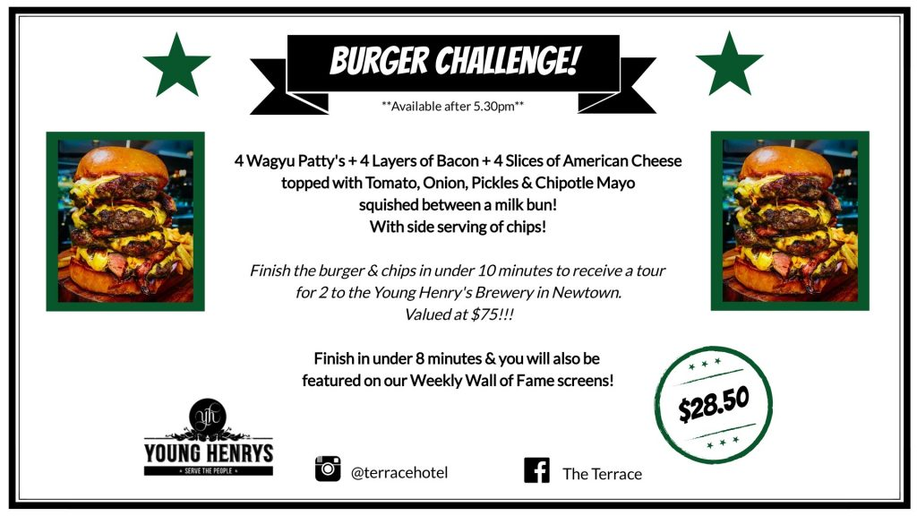 Burger Challenge Screen