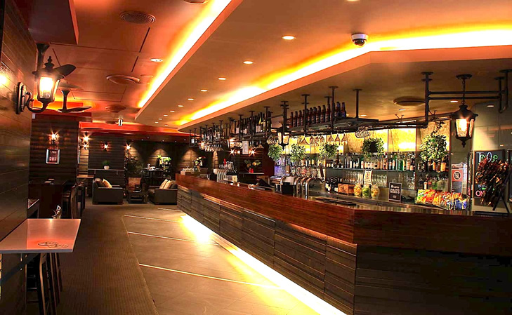 Terrace Hotel Bar Functions