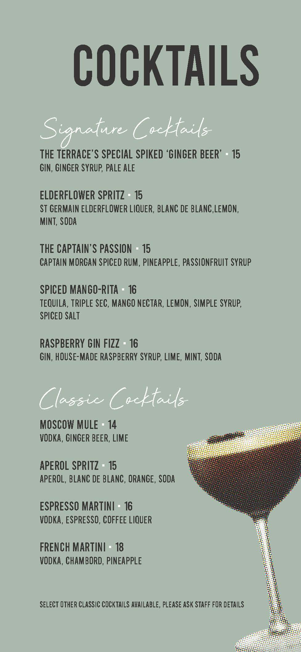 Ter Drinks Menu Dl (2) Page 1